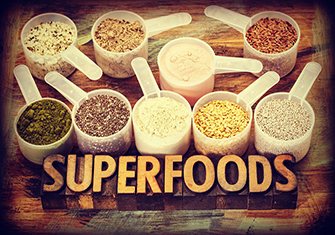Which are some of the most popular and beneficial super foods?